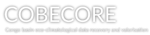 COBECORE – Congo basin eco-climatological data recovery and valorisation